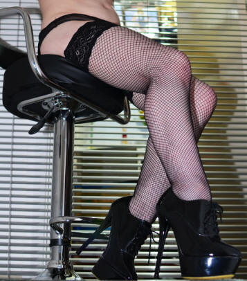 FiFi Fishnet Hold ups