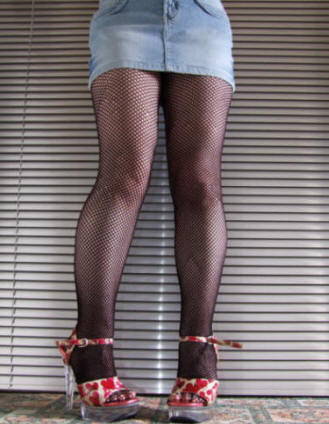 Pretty Essential Fishnet Tights