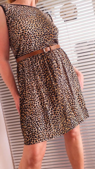 2X Treme Leopard dress