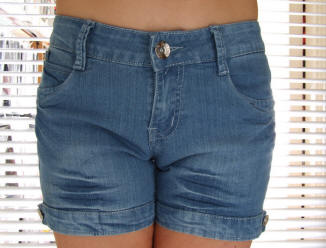 Miss Xi denim shorts