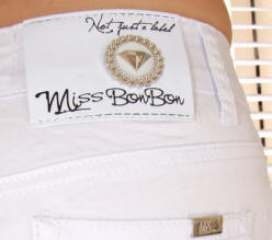 Miss BonBon white shorts