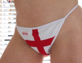 England Thong pack of 3