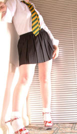 12 inch black micro mini skirt