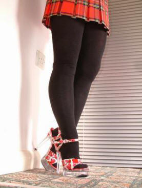 adult school girl tights