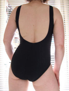 Traditional school swimwear