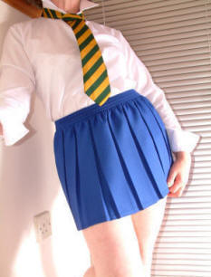 School Box Pleated Mini Skirts