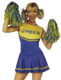 2 pc Cheerleader Outfit