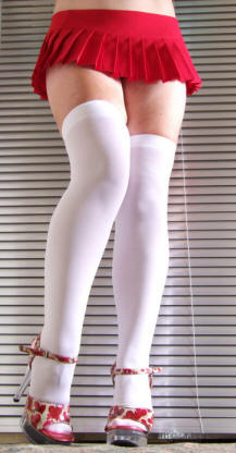Silky over knee socks