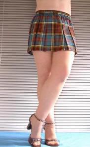 anderson tartan micro mini skirt