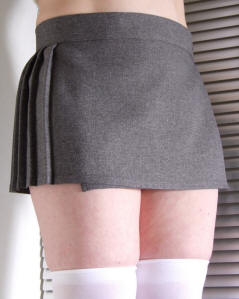 Micro mini Gym skirt